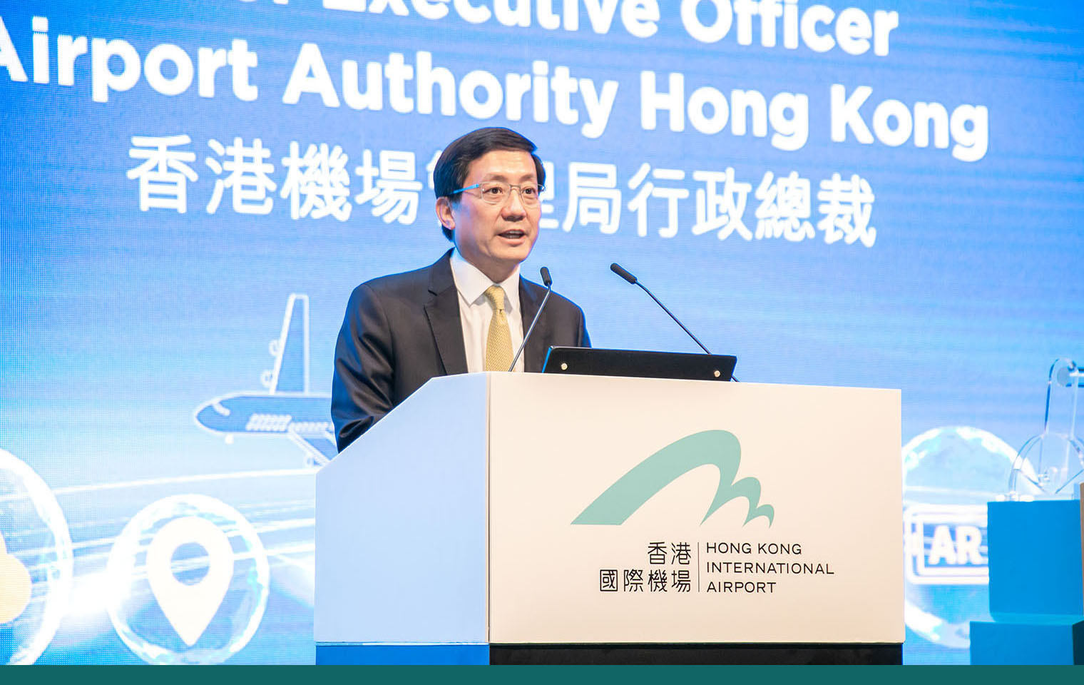 <strong>Mr. Fred Lam</strong><br>Airport Authority Hong Kong