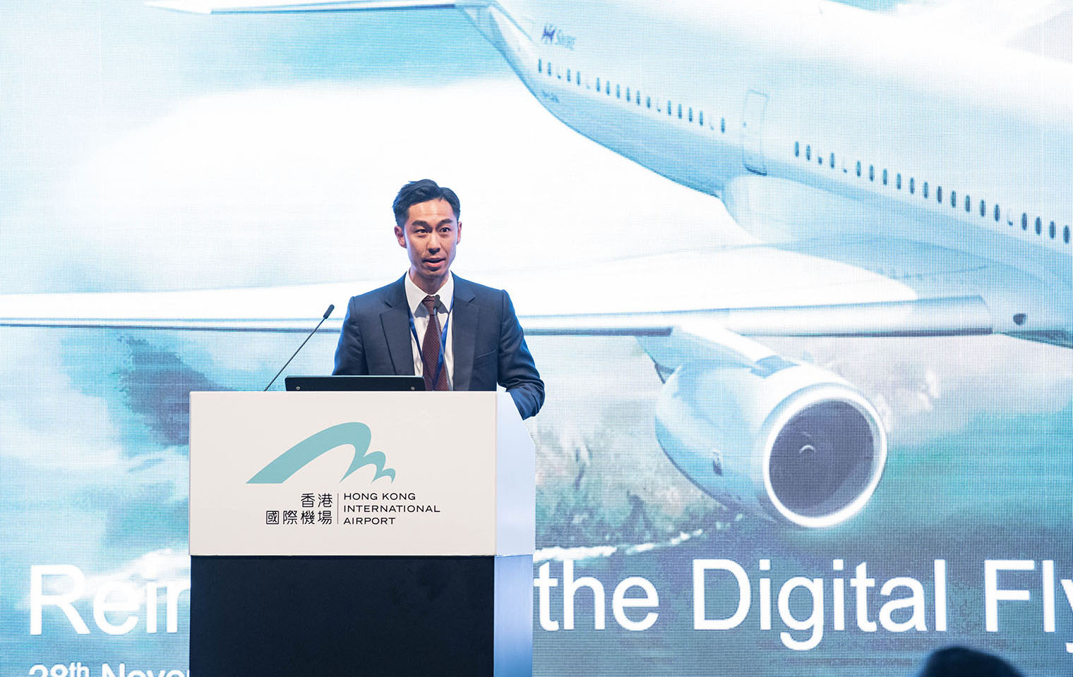 <strong>Mr. Leslie Lu</strong><br>Cathay Pacific Airways Ltd.