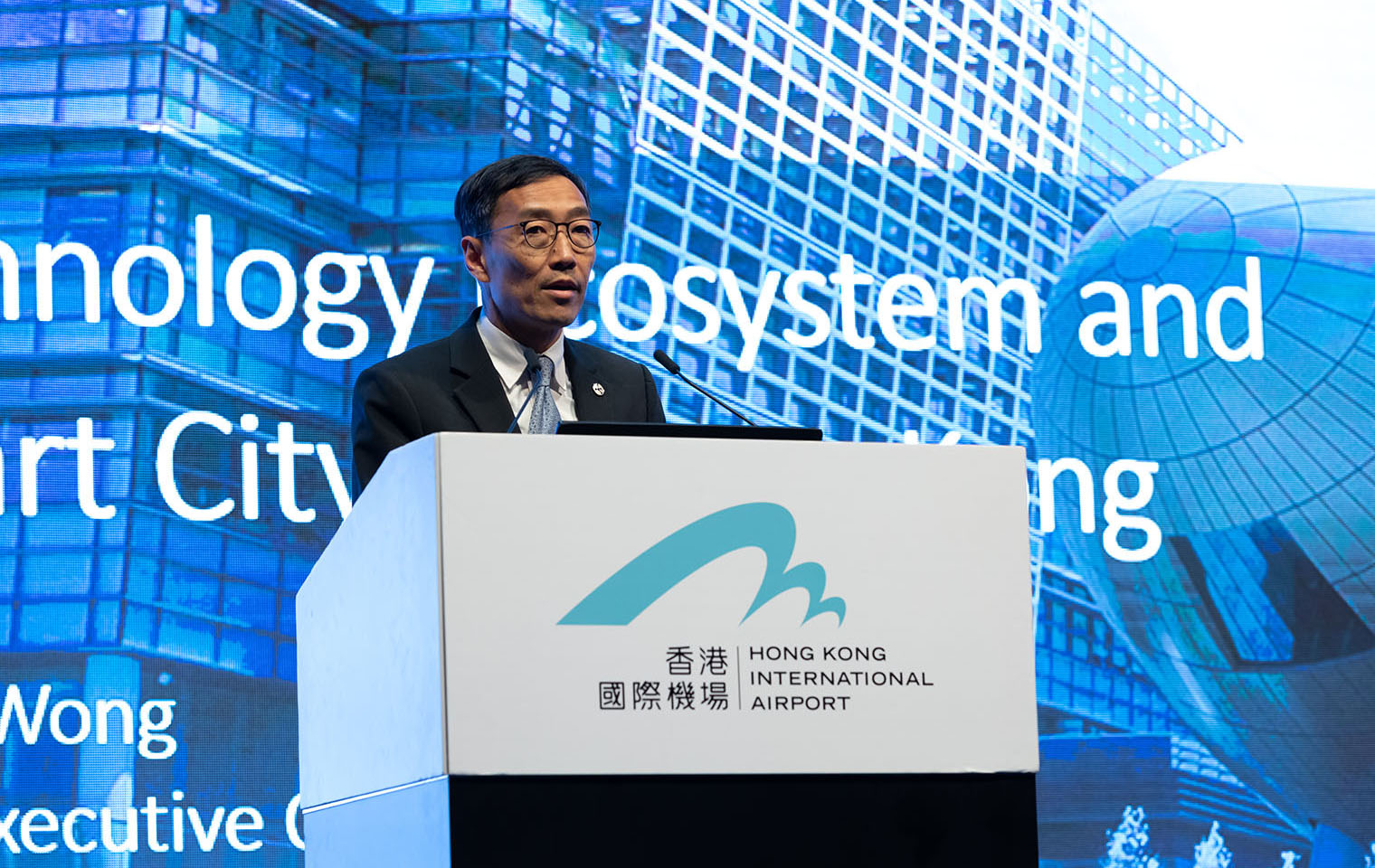 <strong>Mr. Albert Wong</strong><br>Hong Kong Science and Technology Parks Corporation