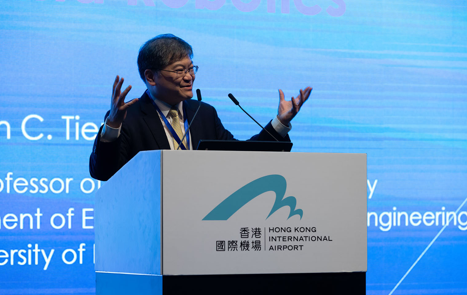 <strong>Professor Norman Tien</strong><br>AI and Robotics Alliance of Hong Kong