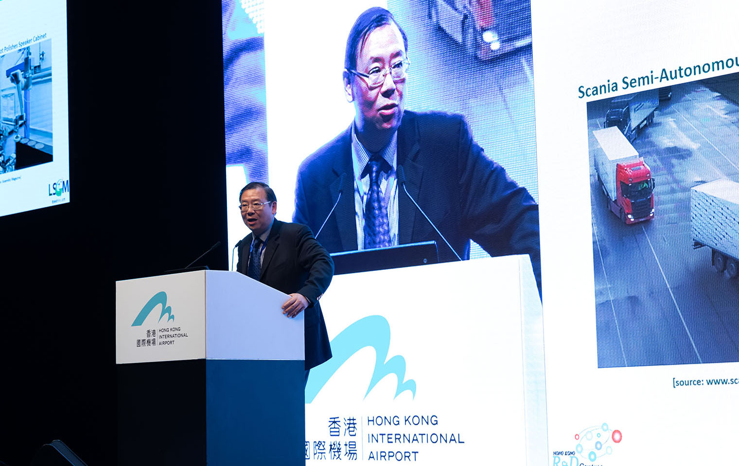 <strong>Mr. Simon Wong</strong><br>Logistics and Supply Chain MultiTech R&D Centre
